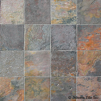 Indian MultiColor A Natural Stone Slate From Jolanta